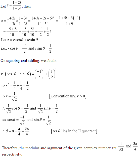 NCERT Solutions for Class 11 Maths Chapter 5 Complex Numbers and Quadratic Equations Miscellaneous Ex Q13.1