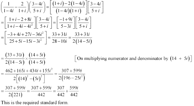 NCERT Solutions for Class 11 Maths Chapter 5 Complex Numbers and Quadratic Equations Miscellaneous Ex Q3.1
