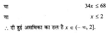 NCERT Solutions for Class 11 Maths Chapter 6 Linear Inequalities Ex 6.1 Q11.1 Hindi