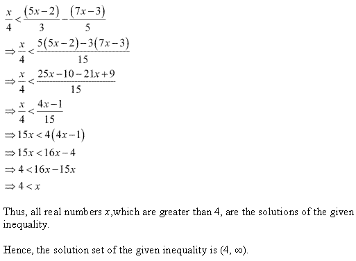 NCERT Solutions for Class 11 Maths Chapter 6 Linear Inequalities Ex 6.1 Q15.1