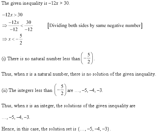 NCERT Solutions for Class 11 Maths Chapter 6 Linear Inequalities Ex 6.1 Q2.1