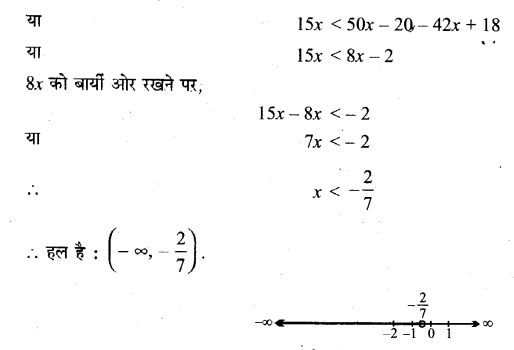 NCERT Solutions for Class 11 Maths Chapter 6 Linear Inequalities Ex 6.1 Q20.1 Hindi