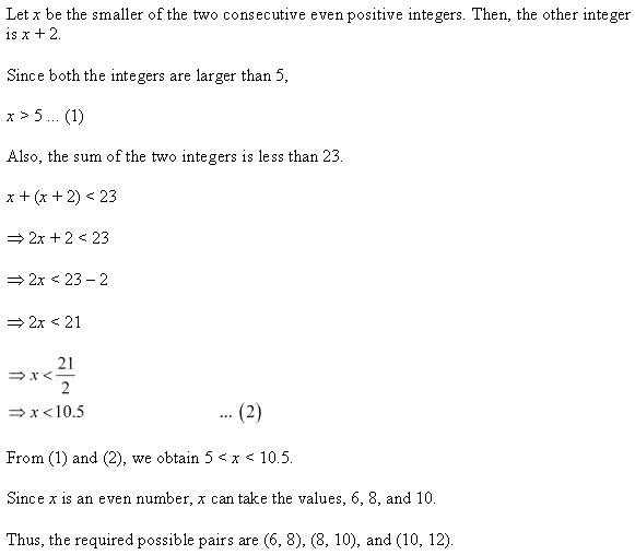 NCERT Solutions for Class 11 Maths Chapter 6 Linear Inequalities Ex 6.1 Q24.1