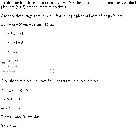 NCERT Solutions for Class 11 Maths Chapter 6 Linear Inequalities Ex 6.1 Q26.1