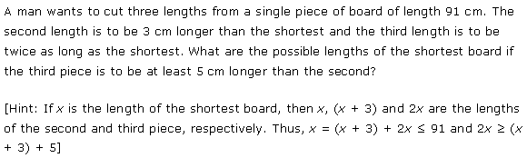 NCERT Solutions for Class 11 Maths Chapter 6 Linear Inequalities Ex 6.1 Q26