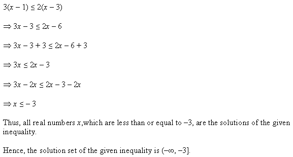 NCERT Solutions for Class 11 Maths Chapter 6 Linear Inequalities Ex 6.1 Q7.1
