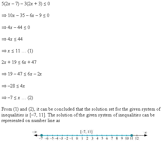 NCERT Solutions for Class 11 Maths Chapter 6 Linear Inequalities Miscellaneous Ex Q10.1