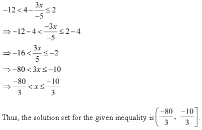 NCERT Solutions for Class 11 Maths Chapter 6 Linear Inequalities Miscellaneous Ex Q5.1