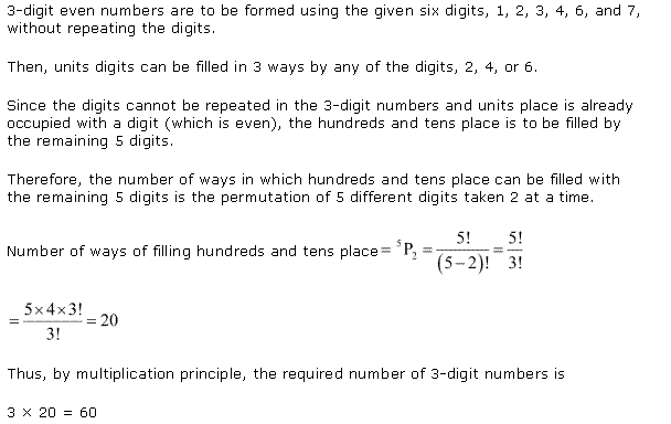 NCERT Solutions for Class 11 Maths Chapter 7 Permutation and Combinations Ex 7.3 Q3.1