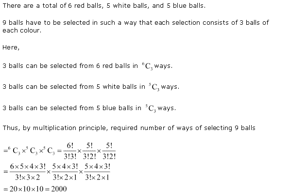 NCERT Solutions for Class 11 Maths Chapter 7 Permutation and Combinations Ex 7.4 Q5.1