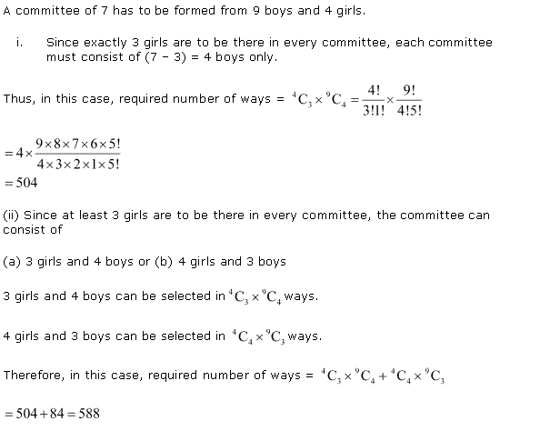 NCERT Solutions for Class 11 Maths Chapter 7 Permutation and Combinations Miscellaneous Ex Q3.1