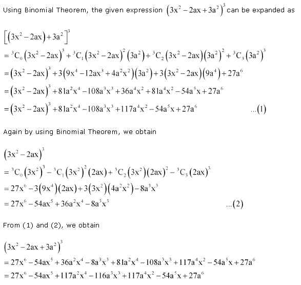 NCERT Solutions for Class 11 Maths Chapter 8 Binomial Theorem Miscellaneous Ex Q10.1