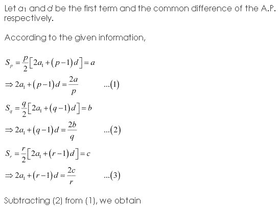 NCERT Solutions for Class 11 Maths Chapter 9 Sequences and Series Ex 9.2 Q11.1