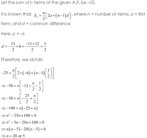 NCERT Solutions for Class 11 Maths Chapter 9 Sequences and Series Ex 9.2 Q4