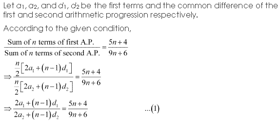 NCERT Solutions for Class 11 Maths Chapter 9 Sequences and Series Ex 9.2 Q9.1