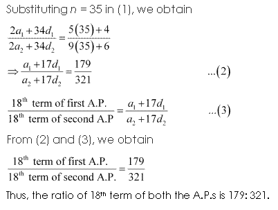 NCERT Solutions for Class 11 Maths Chapter 9 Sequences and Series Ex 9.2 Q9.2