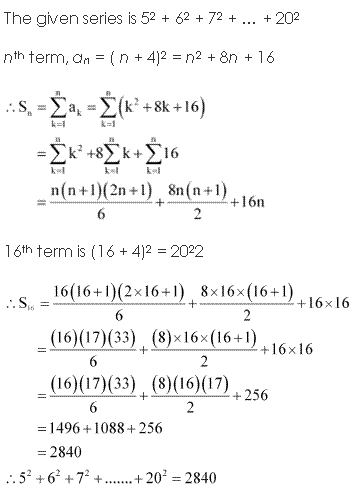 NCERT Solutions for Class 11 Maths Chapter 9 Sequences and Series Ex 9.4 Q5.1