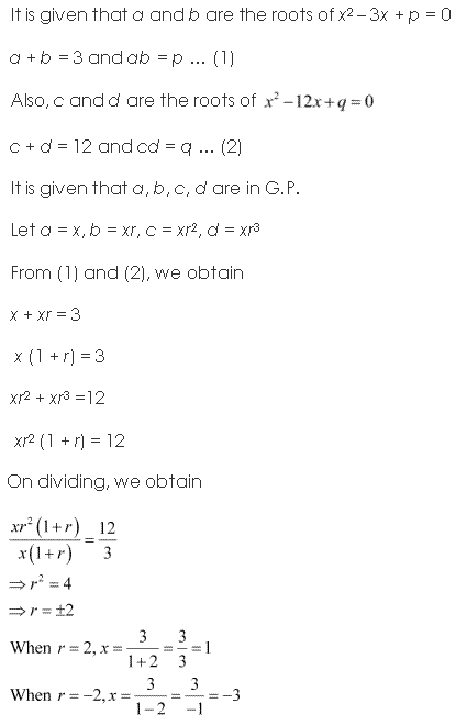 NCERT Solutions for Class 11 Maths Chapter 9 Sequences and Series Miscellaneous Ex Q18.1