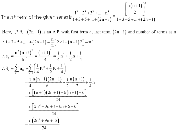 NCERT Solutions for Class 11 Maths Chapter 9 Sequences and Series Miscellaneous Ex Q25.1