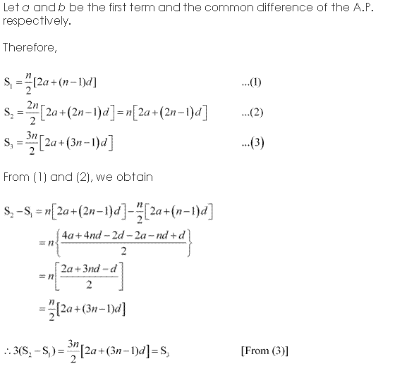 NCERT Solutions for Class 11 Maths Chapter 9 Sequences and Series Miscellaneous Ex Q3.1