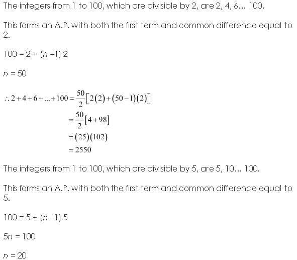 NCERT Solutions for Class 11 Maths Chapter 9 Sequences and Series Miscellaneous Ex Q5.1