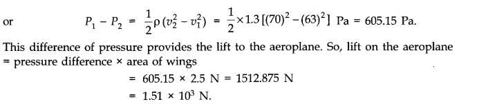 NCERT Solutions for Class 11 Physics Chapter 10 Mechanical Properties of Fluids Q14.2
