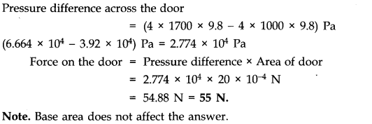 NCERT Solutions for Class 11 Physics Chapter 10 Mechanical Properties of Fluids Q21
