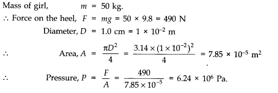 NCERT Solutions for Class 11 Physics Chapter 10 Mechanical Properties of Fluids Q5