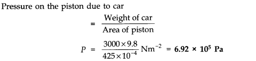 NCERT Solutions for Class 11 Physics Chapter 10 Mechanical Properties of Fluids Q8
