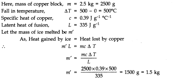 NCERT Solutions for Class 11 Physics Chapter 11 Thermal Properties of matter Q13