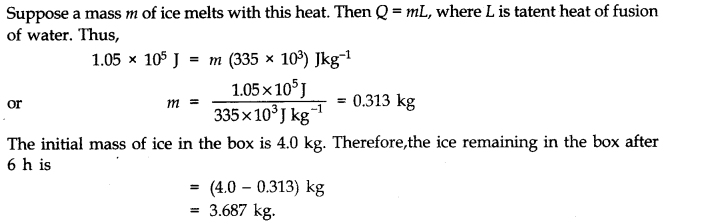 NCERT Solutions for Class 11 Physics Chapter 11 Thermal Properties of matter Q19.1