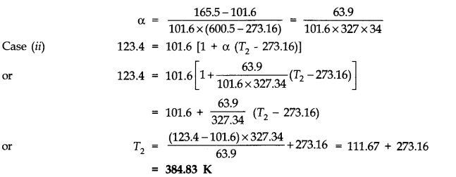 NCERT Solutions for Class 11 Physics Chapter 11 Thermal Properties of matter Q3