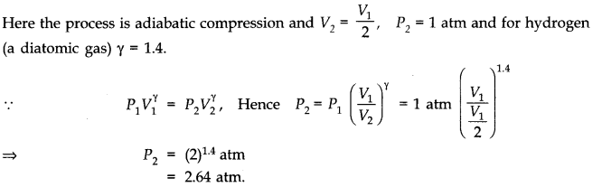 NCERT Solutions for Class 11 Physics Chapter 12 Thermodynamics Q4
