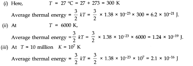 NCERT Solutions for Class 11 Physics Chapter 13 Kinetic Theory Q7