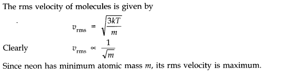 NCERT Solutions for Class 11 Physics Chapter 13 Kinetic Theory Q8