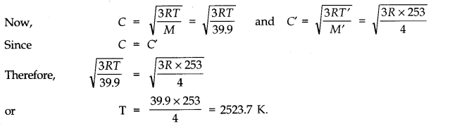 NCERT Solutions for Class 11 Physics Chapter 13 Kinetic Theory Q9