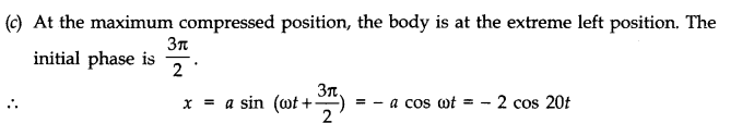 NCERT Solutions for Class 11 Physics Chapter 14 Oscillations Q10.1