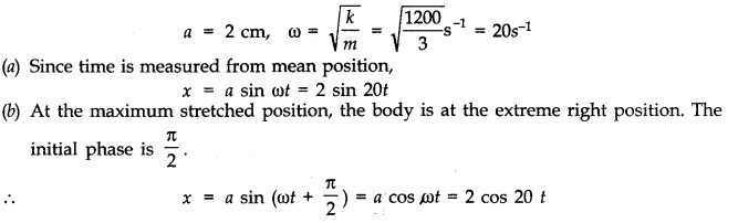NCERT Solutions for Class 11 Physics Chapter 14 Oscillations Q10