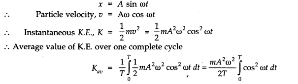 NCERT Solutions for Class 11 Physics Chapter 14 Oscillations Q22