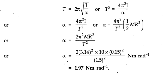 NCERT Solutions for Class 11 Physics Chapter 14 Oscillations Q23