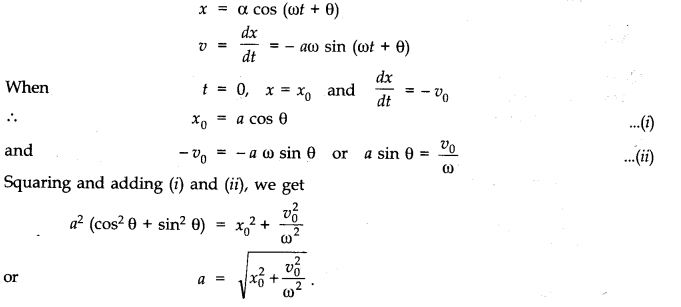 NCERT Solutions for Class 11 Physics Chapter 14 Oscillations Q25