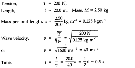 NCERT Solutions for Class 11 Physics Chapter 15 Waves Q1