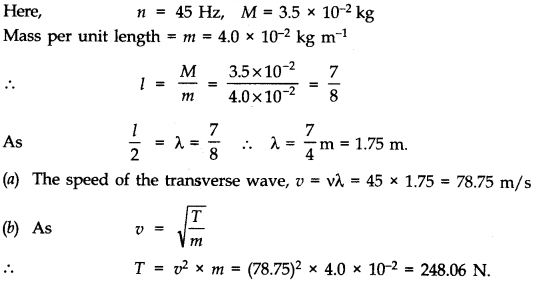 NCERT Solutions for Class 11 Physics Chapter 15 Waves Q14