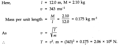 NCERT Solutions for Class 11 Physics Chapter 15 Waves Q3