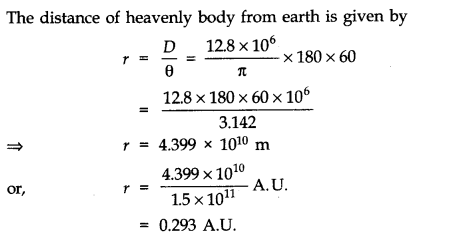 NCERT Solutions for Class 11 Physics Chapter 2 Units and Measurements Extra Questions SAQ Q4.1