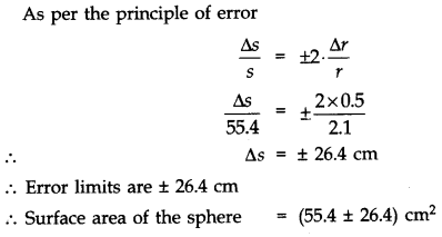 NCERT Solutions for Class 11 Physics Chapter 2 Units and Measurements Numerical Questions Q1