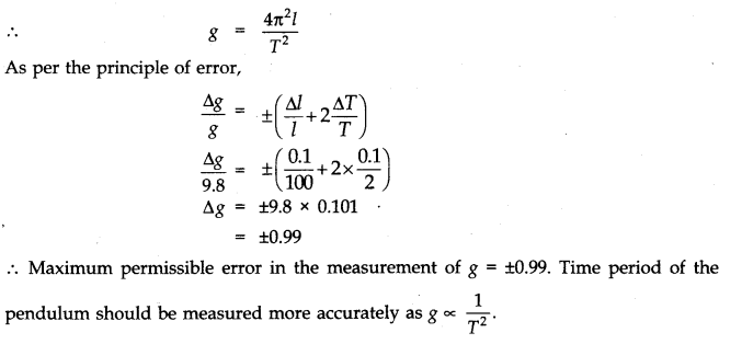 NCERT Solutions for Class 11 Physics Chapter 2 Units and Measurements Numerical Questions Q5.1