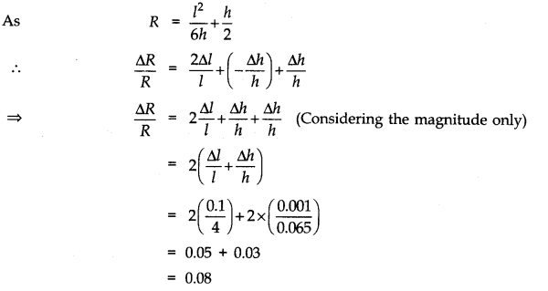 NCERT Solutions for Class 11 Physics Chapter 2 Units and Measurements Numerical Questions Q7
