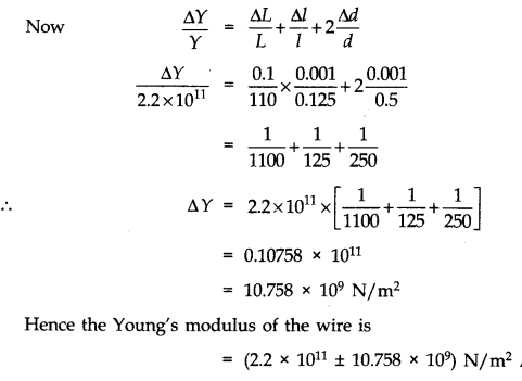 NCERT Solutions for Class 11 Physics Chapter 2 Units and Measurements Numerical Questions Q8.1