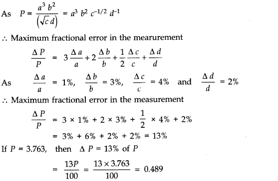 NCERT Solutions for Class 11 Physics Chapter 2 Units and Measurements Q13.1